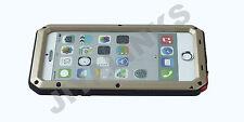 ALUMINIUM GORILLA GLASS METAL CASE COVER FOR iPHONE MODELS WATERPROOF SHOCKPROOF