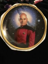 "Star Trek The Next Generation "" Captain Jean- Luc Picard"" Collector'S Plate"