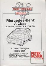 MERCEDES BENZ A CLASS A160 CDI A170 CDI & VANEO 1.7 CDI '98-'04 REPAIR HANDBOOK