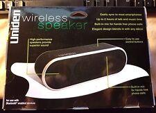 Uniden Portable Bluetooth WIRELESS Speaker w/ Enchanced Bass SALE