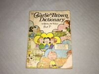Vintage 1973 The Charlie Brown Dictionary A-Z 2400 Words Defined 580 Pictures