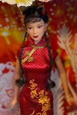 2005 Festivals of the World Chinese New Year Barbie doll NRFB China