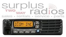 ICOM F6021 UHF 400-470MHZ MOBILE 45W 128CH FIRE POLICE HAM EMS RACING BASE