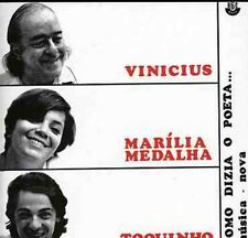 Vinicius, Vinicius & Toquinho & Marilia Medalha - Como Dizia O Poeta [New CD]