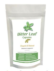 Bitter Leaf Capsules (30, 60, 90, 120) 100% Natural - SEE VIDEO