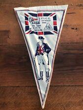 More details for vintage cloth caravan pennant . royal bath & west showground