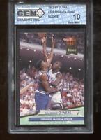 Shaquille O'Neal RC 1992-93 Fleer Ultra #328 HOF Rookie GEM MINT 10