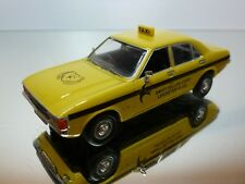 VANGUARDS FORD GRANADA CONSUL TAXI - YELLOW 1:43 - VERY GOOD CONDITION