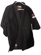 Black FUJI Jiujitsu Gi, Size A3