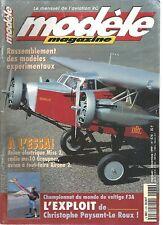 MODELE MAG N°578 PLAN : L'ULTIMATE / MC-10 GRAUPNER / AIRONE 2 DE COPAERO