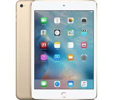 """Apple iPad Mini 4 MK9Q2B/A 128GB WiFi 7.9"""" Screen 8MP Camera Gold - New"""