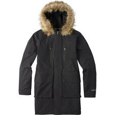 BURTON  women's Olympus Black Jacket Parka coat MEDIUM retail $249