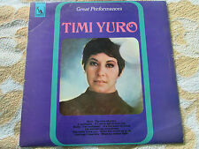 Timi Yuro ‎– Great Performances  Liberty ‎– LBS 83115 Vinyl LP Album