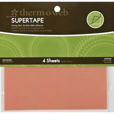 "#4105  Super Tape Double-Sided Sheets 5.5""X4.5"" 4/Pkg 000943041054"