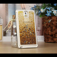 Luxury Glitter Star Liquid Back Phone Case Cover For Samsung Galaxy & Iphone