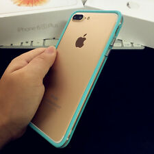 Ultra Thin Bumper TPU Rubber Case Frame Cover Skin For Apple iPhone X 6/7/8 Plus