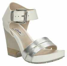 "Clarks 3-4.5"" High Heel Sandals & Beach Shoes for Women"
