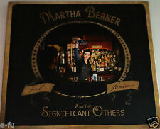 Rare MARTHA BERNER And The Significant Others FOOL'S FANTASY Folk Pop Music CD