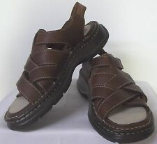 z- SHOES WOMENS SZ 5 SANDALS NEW BROWN HIGH SIERRA GREAT SHAPE