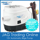 12V AUTOMATIC SUBMERSIBLE BOAT BILGE WATER PUMP 750GPH AUTO with FLOAT SWITCH photo