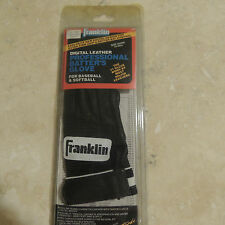 Franklin Baseball Black Leather Batting Glove Youth Size Small Right Hand