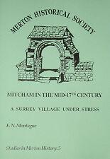 MITCHAM IN ENGLISH CIVIL WAR South London Surrey Local History Village Soldiers
