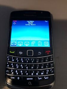 BlackBerry Bold 9700 - Black (O2) Smartphone