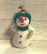 Snowgirl Snowman 6th Generation 2000 Retired Ty Beanie Baby Collectible