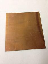 "0.4mm 6x6/"" Copper Sheet #26 .015/"""