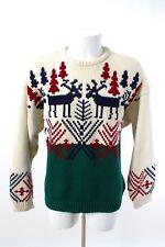 FUZZI Pullover Gr. 54 / XL 100% Wolle Winter-Pulli Strick Norwegerpullover