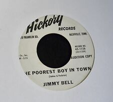 POPCORN ROCK Jimmy Bell Hickory DJ 1156 Honey Bee and The Poorest Boy in Town