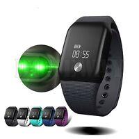 Bluetooth Wrist Fitness Tracker Smart Band Heart Rate Monitor Blood Oxygen Watch