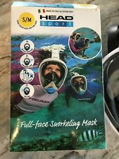 HEAD Sport Sea Vision Full Face Snorkeling Mask. Size Small