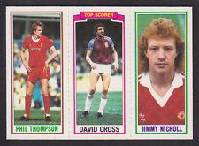 Topps - Footballers (Blue Back) 1981 - # 46 68 164 Liverpool W Ham Man Utd