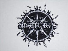ARCTURUS BLACK METAL IRON ON EMBROIDERED PATCH