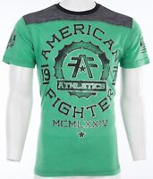 AMERICAN FIGHTER Mens T-Shirt MARYLAND Athletic BLACK KELLY GREEN Biker $40