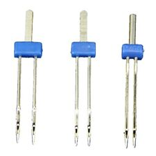 92faad6c 4X(3 x Double Twin Needles Pins Sewing Machine Size 2.0/90,3.0