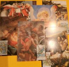 VATICANO - Natale 1988 MAXIMUM - 6 cartoline perfette