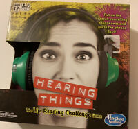 Things Lip-reading Challenge Game. New. Sealed. Hasbro Hearing