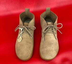 Vivobarefoot Gobi II Chestnut Suede Chukka Classic Desert Boot Size EUR 39L US 8