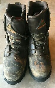 Rocky camoflauge waterproof hunting boots youth size 7