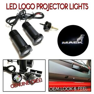 Lumenz LED Courtesy Logo Lights Ghost Shadow GOBO for Whtie Mack Semi 100650