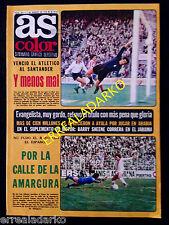 REVISTA AS COLOR 355 AT.MADRID-ATH.BILBAO-VALENCIA KEMPES-CRUYFF-EVANGELISTA