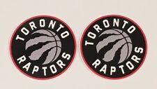2x Toronto Raptors Car Bumper Laptop iPhone Wall Vinyl Die Cut Sticker Decal