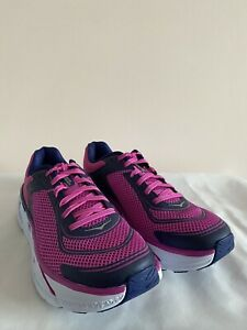 Hoka One One Napali Womens UK5.5 [Fuchsia/Blue Print]