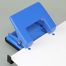 10*9cm High Quality 2 Hole Paper Puncher Punch Scrapbooking With Sided Gauge