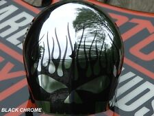 Skull Graphic for Horn cover fits Harley Davidson Sportster, Dyna Low Rider