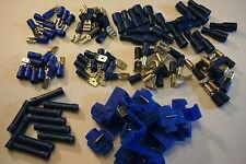 Cable de terminales de crimpeado conexiones Pack De Azul 100 Para Parlantes Home Car repires