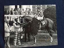 Ron Turcotte Jockey Signed 8 X 10 Photo Autographed