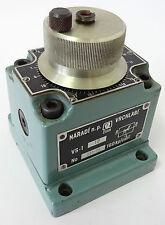 NARADI VRCHLABI VS-1 10 Hydraulikventil Hydraulic Valve 131-70 160kp/cm² VS-110